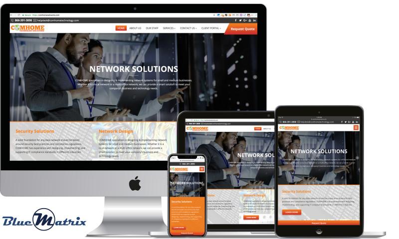 BlueMatrix Media - COMHOME Networks