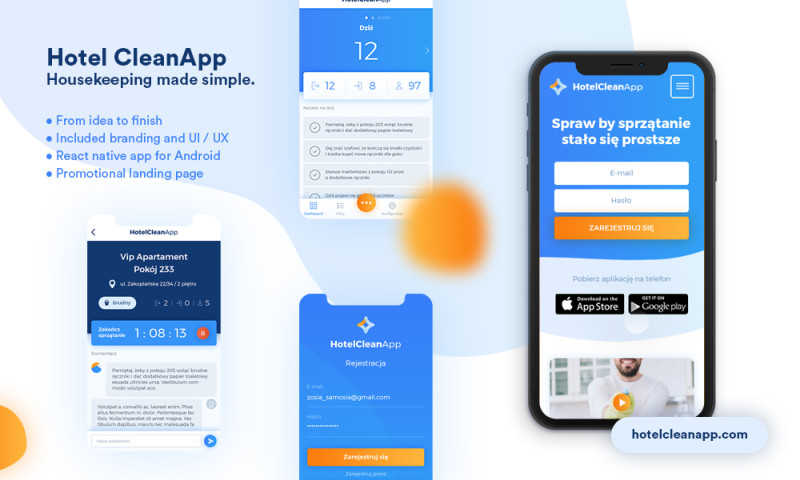 Time4 Digital - Hotel CleanApp