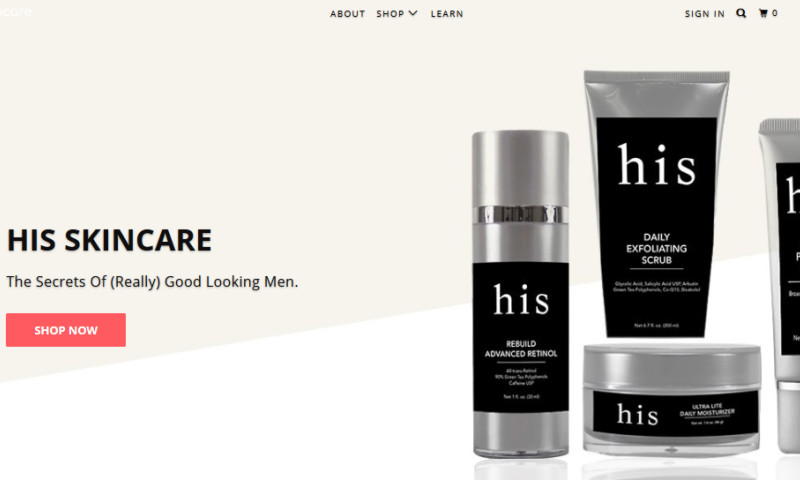HitsValue - SEO for Mens Skin Care Products