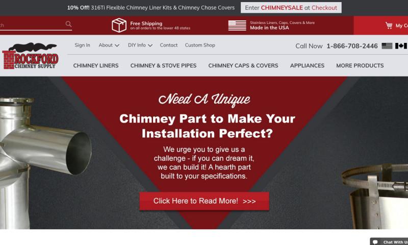 Trademark Productions - Rockford Chimney Magento2