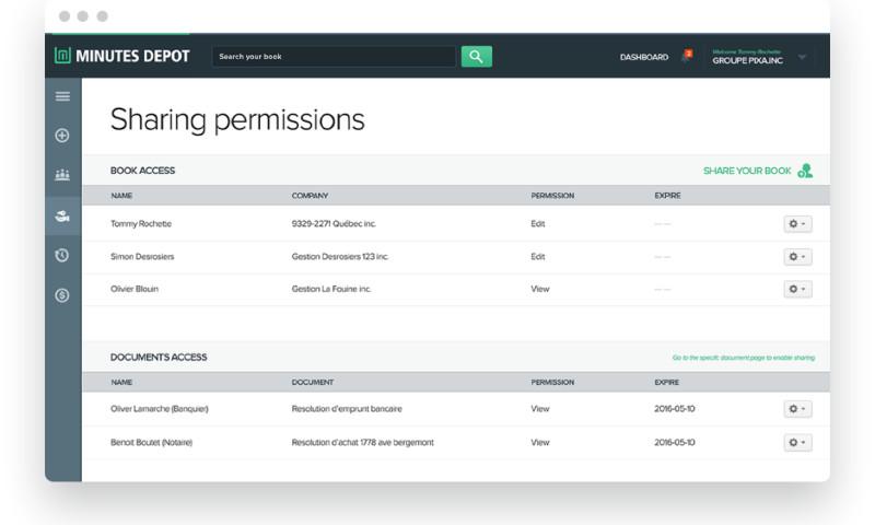 LaSoft - 'MinutesDepot' Web Development and Product Design