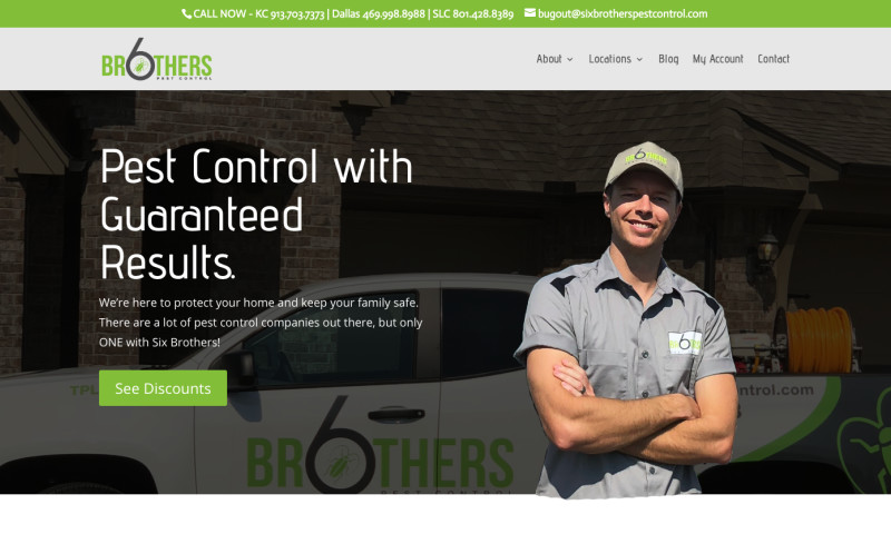 Morningdove Marketing - Six Brothers Pest Control