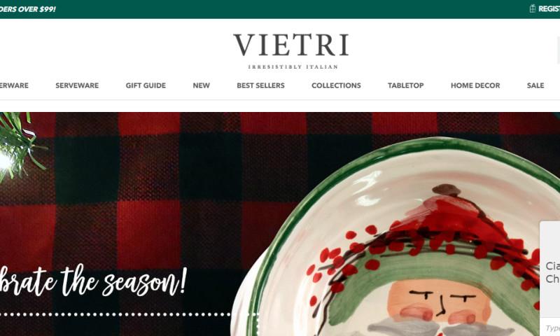 CommerceShop - Vietri Rebrand