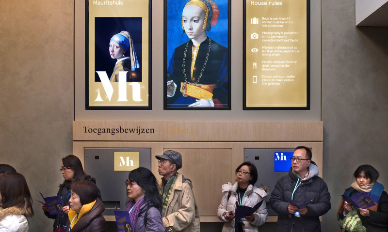 Studio Dumbar - Mauritshuis — A new identity for the home of Dutch Golden Age painting