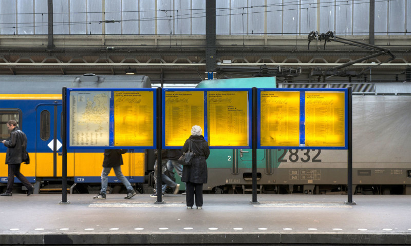 Studio Dumbar - NS — One of the most iconic Dutch logos for the Dutch Railways