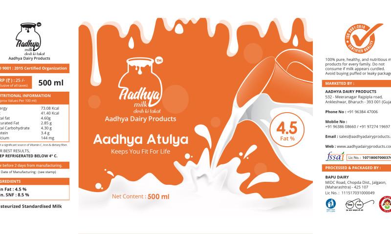 Verve Logic - Aadhya Milk