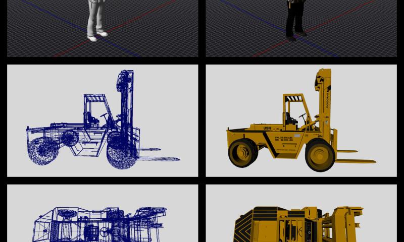 Melcher Studios - VR Forklift Training