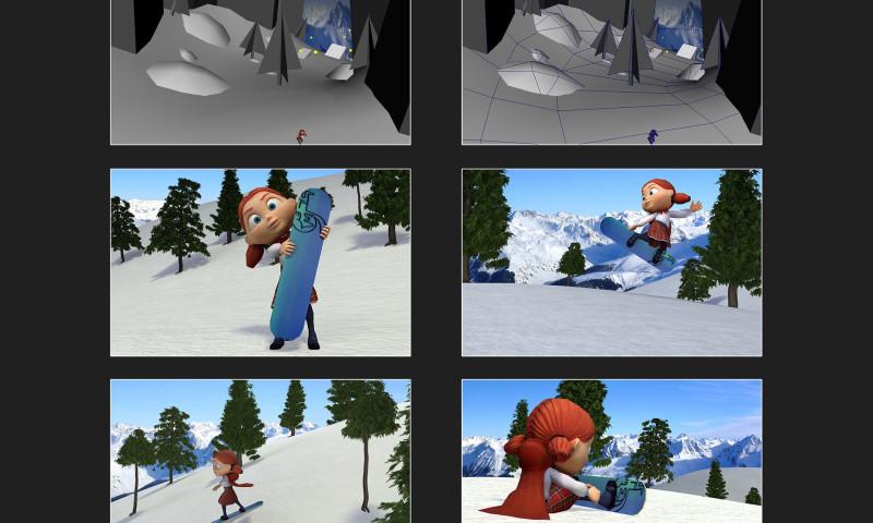 Melcher Studios - SaskTel 3d Web Game