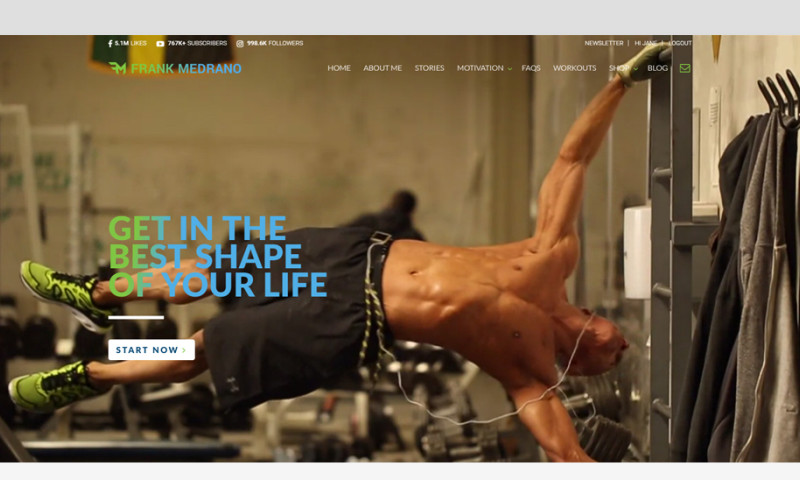 Natalie Minh Interactive - Frank Medrano Website Redesign and Development
