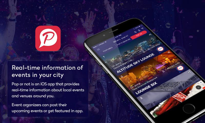 Peerbits - POP'N OR NOT? REAL-TIME SOCIAL EVENTS APP