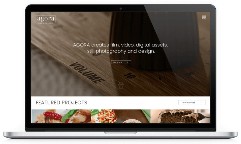 Amasta Media - Responsive Website for Agora Media Solutions