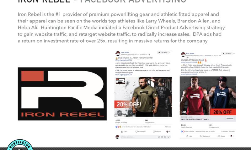 Huntington Pacific Media - Iron Rebel Power Gear