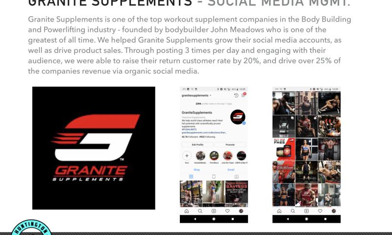 Huntington Pacific Media - Granite Supplements