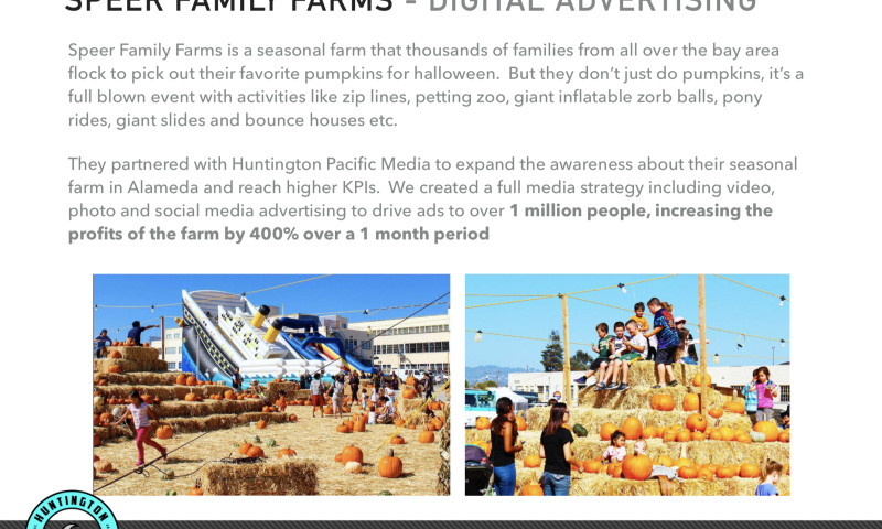 Huntington Pacific Media - Speer Family Farms