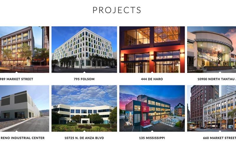 Zen Den Web Design - Union Property Capital: Real Estate Website