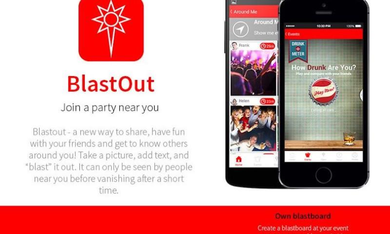 EGO Creative Innovations - BlastOut App