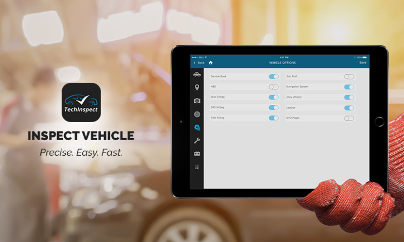 EGO Creative Innovations - Vehicle Inspection App