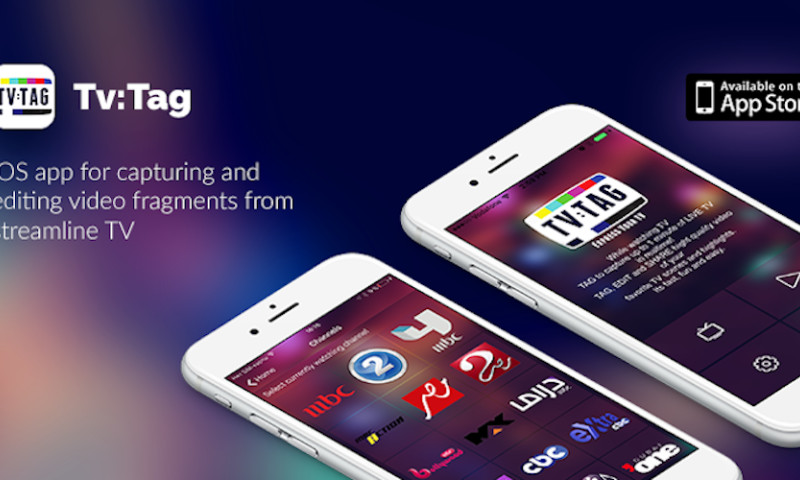 EGO Creative Innovations - TVTAG mobile app