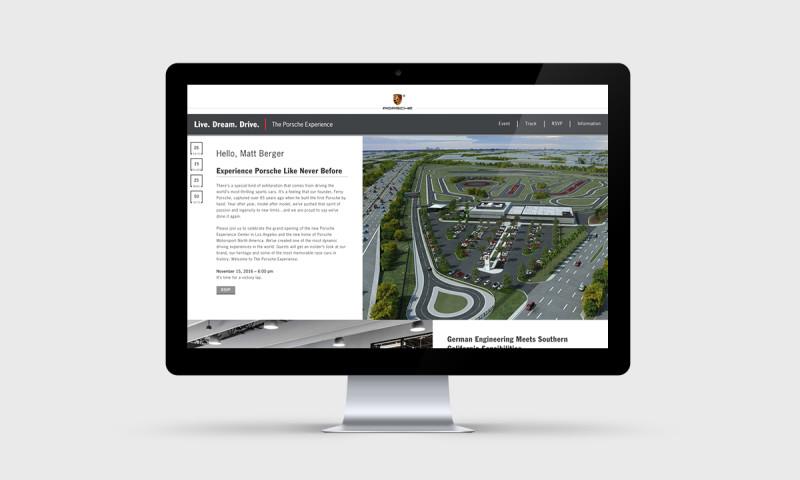 eCity Interactive - The Porsche Experience