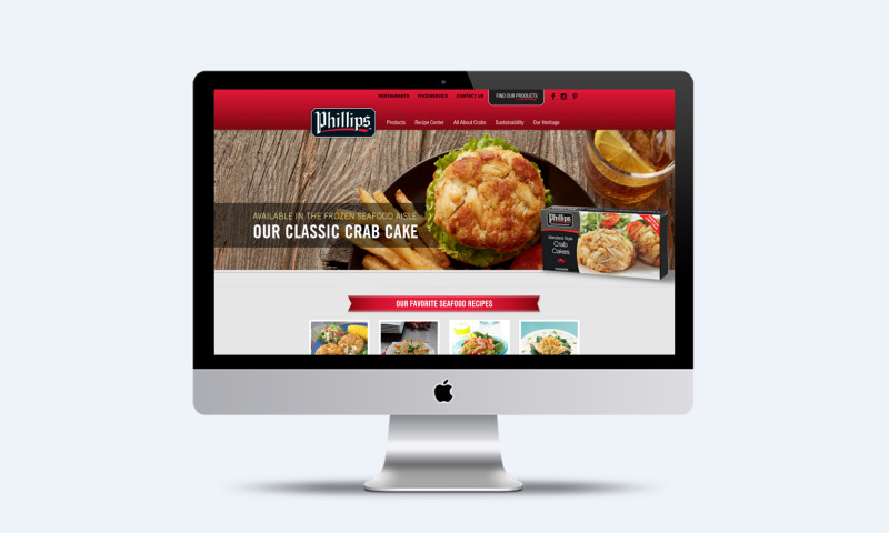 Mindgrub - Phillips Seafood: Modern Design to Showcase Brand