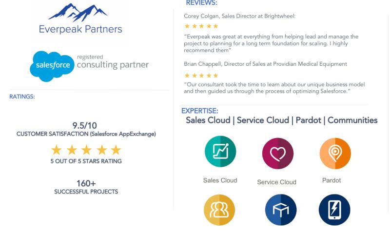 Everpeak Partners - Salesforce Optimization