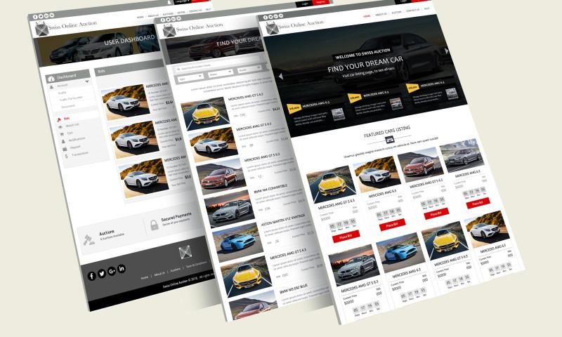 Soft Tech Group - Auction Web App