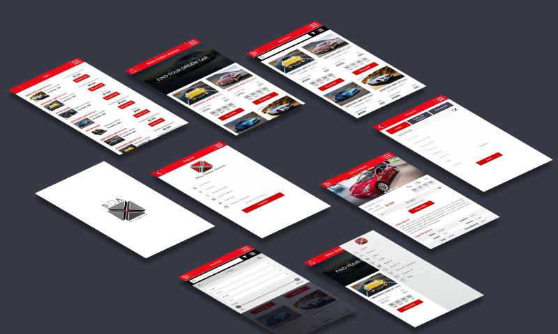 Soft Tech Group - Auction Mobile App