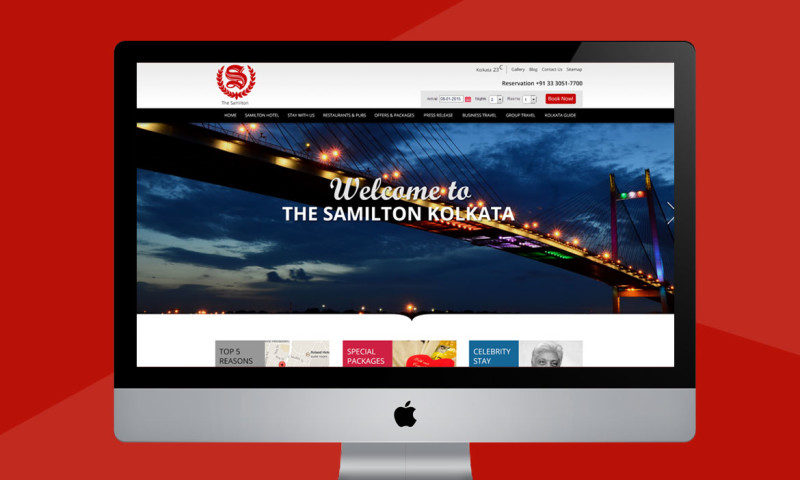 Webmoghuls - Responsive web design & WordPress website development for Hotel