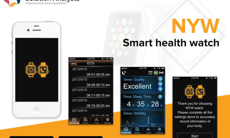 Solution Analysts Inc - NYW – Smart Health Watch
