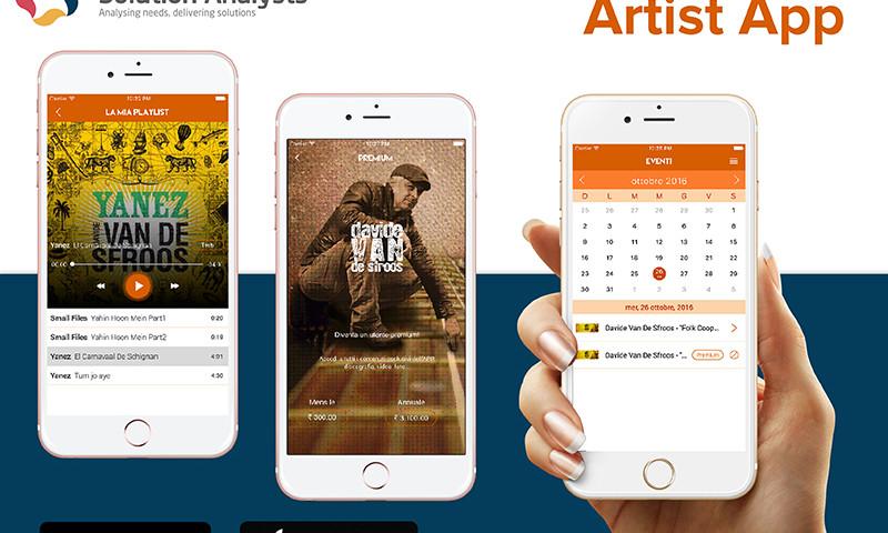 Solution Analysts Inc - Artist App