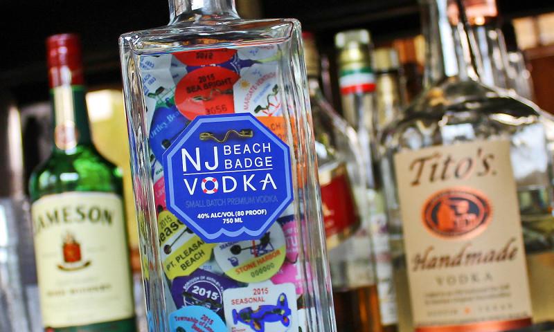 CMDS - NJ Beach Badge Vodka