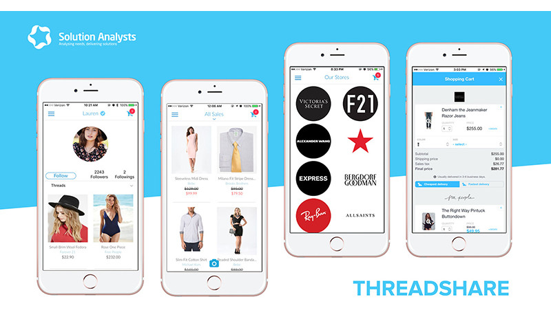 Solution Analysts Inc - ThreadShare App