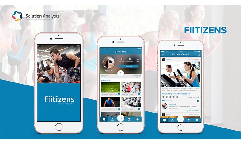 Solution Analysts Inc - Fiitizens App