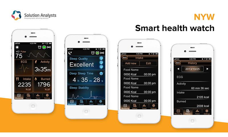 Solution Analysts Inc - Smart Health watch