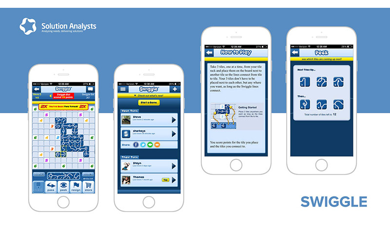 Solution Analysts Inc - Swiggle Game