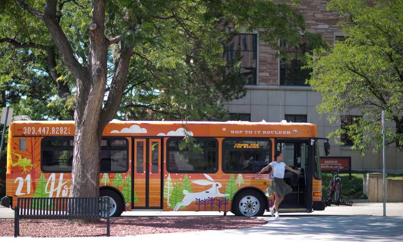 Studio Six Branding - City of Boulder HOP Transit