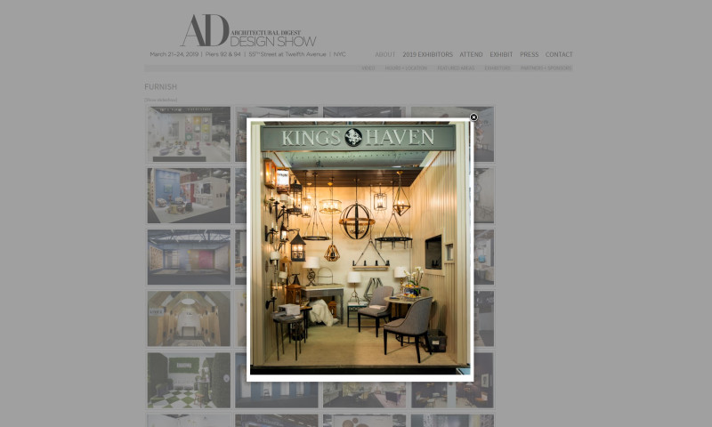 Eberly & Collard Public Relations - Architectural Digest Home Design Show