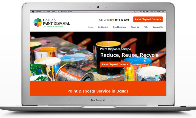 ioVista - Dallas Paint Disposal