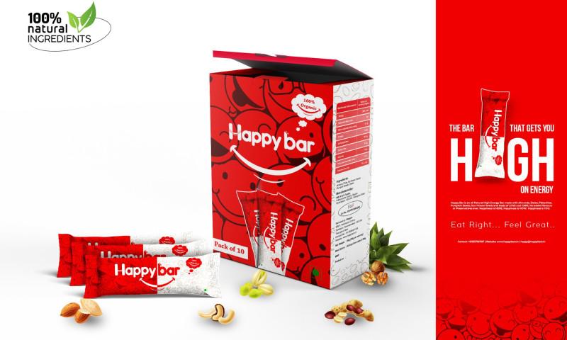 Strawberry Branding - Happy Bar