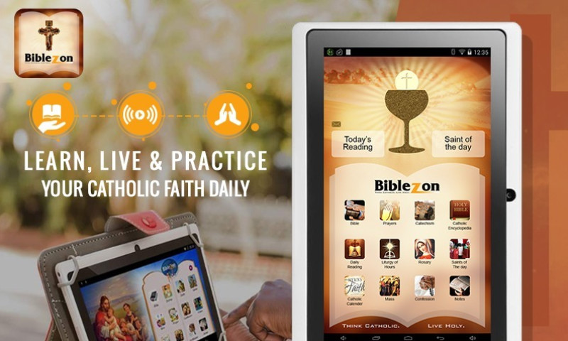 KONSTANT INFOSOLUTIONS - Android Launcher - Catholic Application