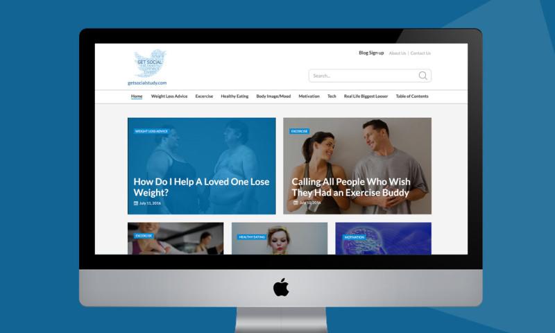 Webmoghuls - Fitness Blog Website Design and Development USA