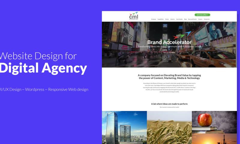 Webmoghuls - Digital Agency WordPress Website Design and Development