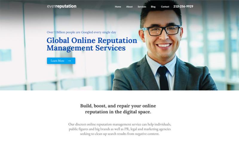 Webmoghuls - WordPress Web Design and Development for Reputation Management Company USA