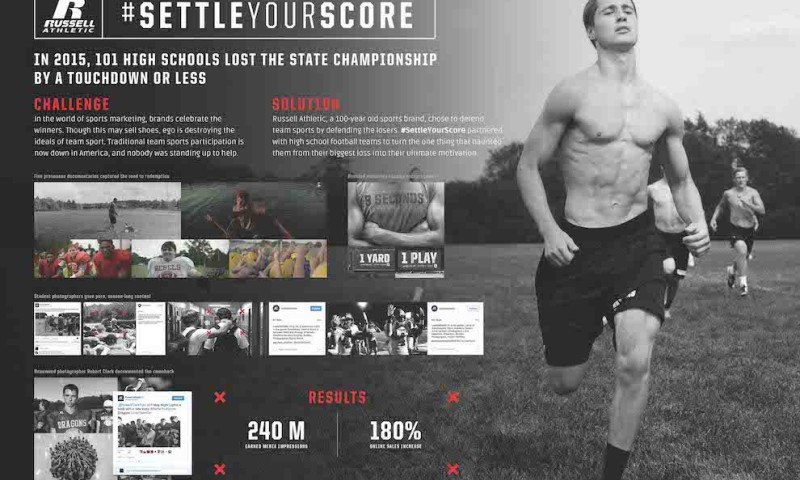 Barkley - Russell Athletic: Settle Your Score Case Study