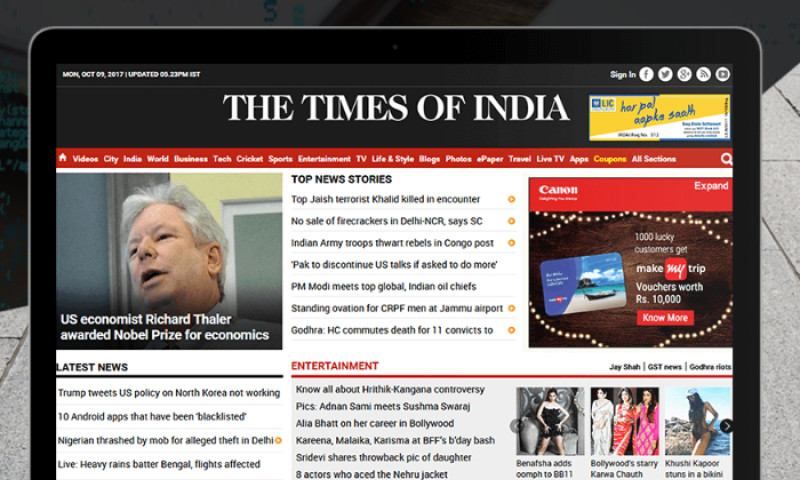 Brainvire Infotech Inc - Times of India