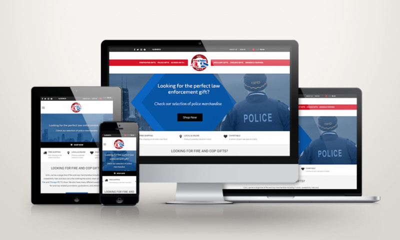 Xtreme Websites - Chicago Fire And Cop Shop