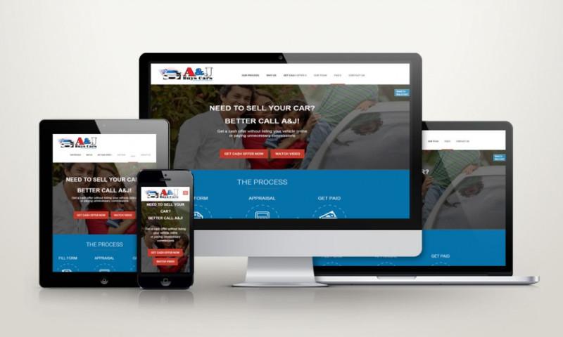 Xtreme Websites - A&J Buys Cars