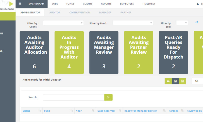 HQSoftware - Software Development for Auditing Firm
