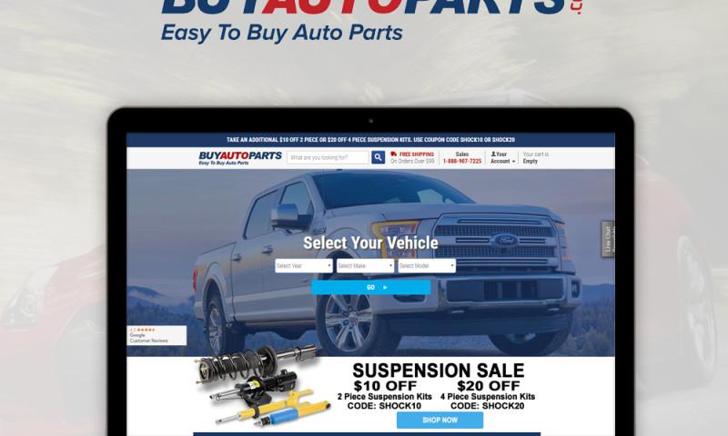 Dot Com Infoway - Buy Auto Parts-Web Development