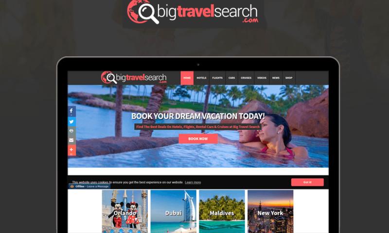Dot Com Infoway - Big Travel Search-Web Development